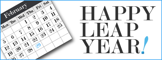 Happy Leap Year 2012
