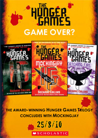 The Hunger Game Trilogy Poster