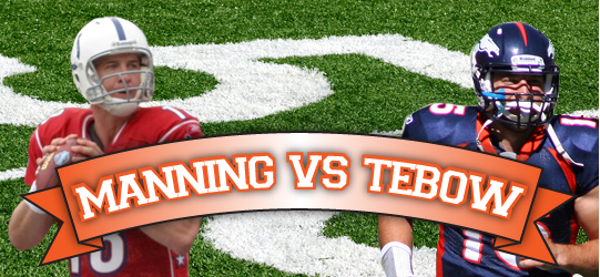 Manning Vs Tebow