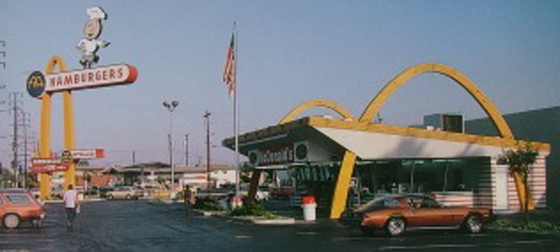 McDonald's Downey California