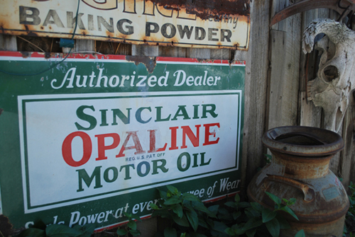 Antique Sign Collector Jim Oswald