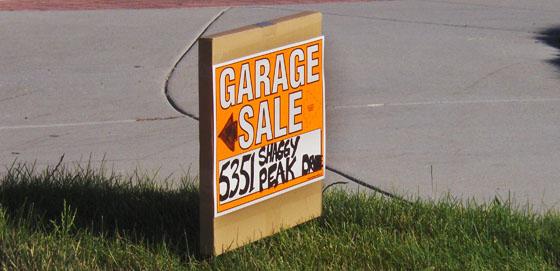 Small Yard Sale