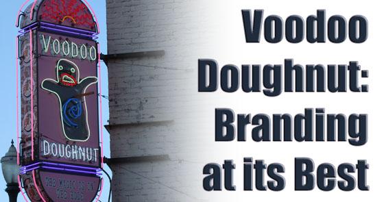Voodoo Doughnuts Sign