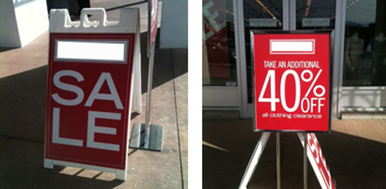 How To Rock The Sale Sign Signs Com Blog
