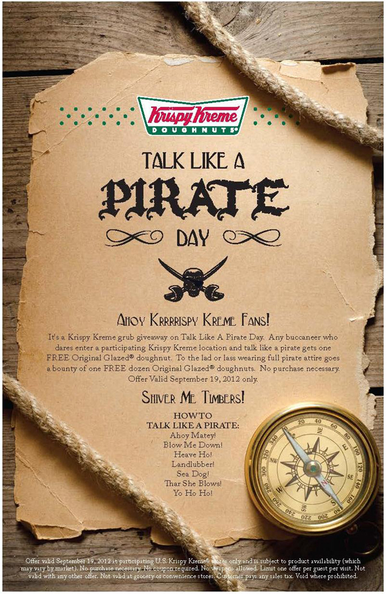 Talk Like A Pirate Day Yep You Heard Right Signs Com Blog