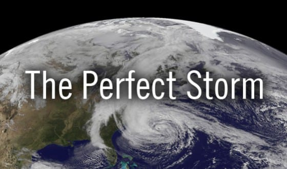 The Perfect Storm - Hurricane Sandy