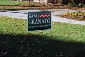 Granato Election Sign