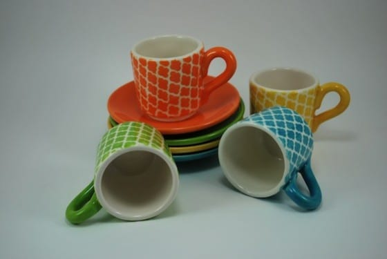 Tiny Java Lattice Cups
