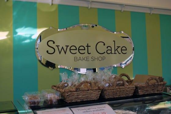 Sweet Cake Sign