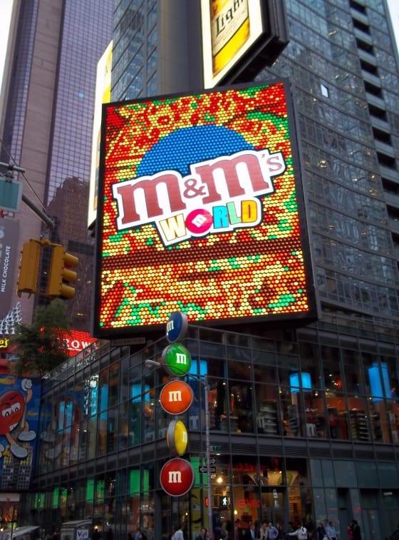M&M World NYC