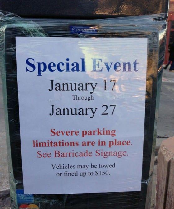 Parking Sundance 2