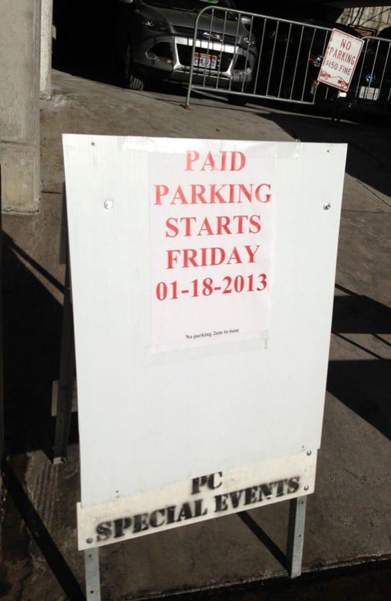 Parking Sundance