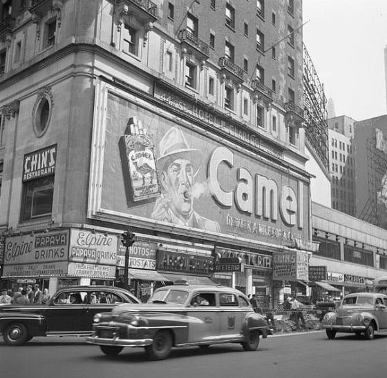 Camel Billboard