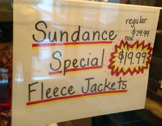 Sundance Fleece