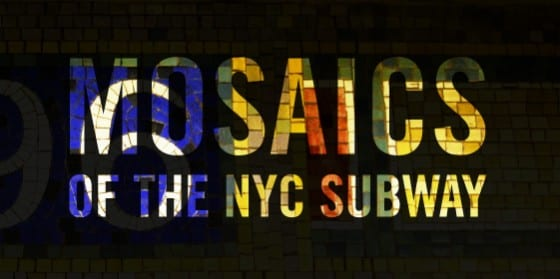 Mosaics of the NYC Subway