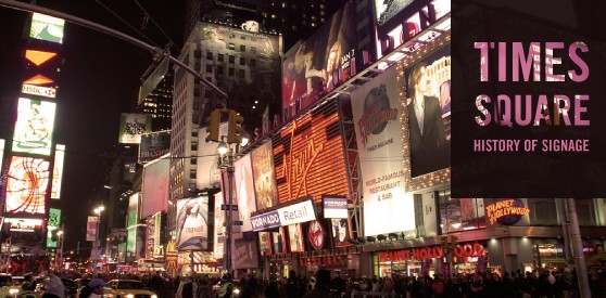 History of Signage in Times Square