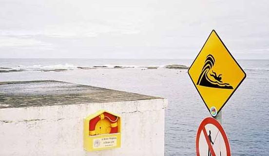 dangerous wave