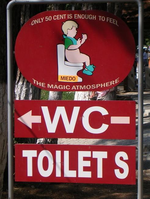 Magic toilet