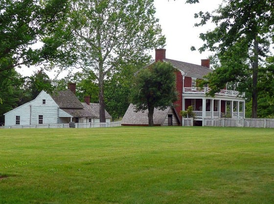 Reconstructed McLean Farmhouse
