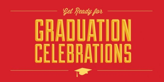 Get ready for graduation celebrations