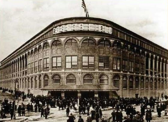 Ebbets Field Opening Day 1913