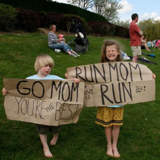 Milton Keynes Marathon. Courtesy of Ashley Pearson.