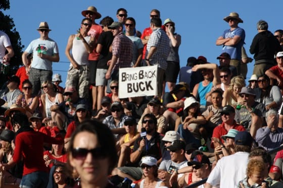 Bring Back Buck. Courtesy Robert Marson.