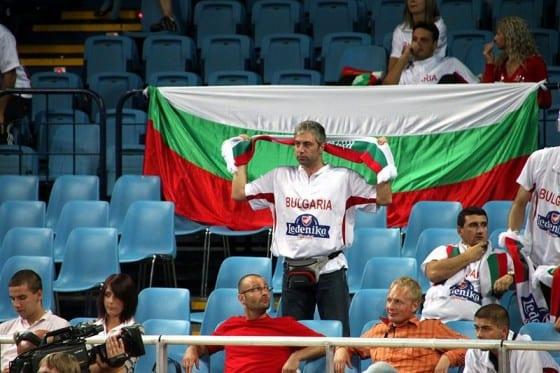 Bulgarian Fan. Eurobasket 2009. Courtesy Klearchos Kapoutsis.