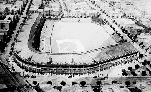 Rendering of Cubs Park Renovation, 1922