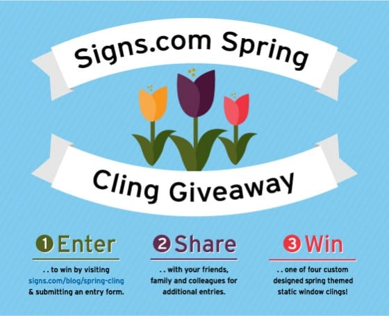 Spring Cling Giveaway