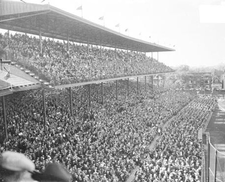 Wrigley Field Upper Deck 1927