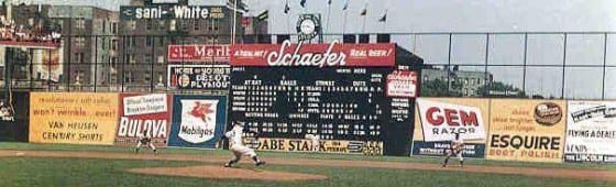 Schaefer Beer Scoreboard