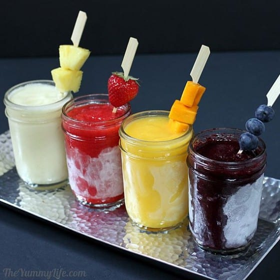 Make Ahead Frozen Fruit Daiquiris
