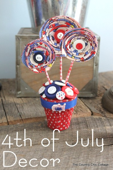 4th of July Decor Centerpiece-014