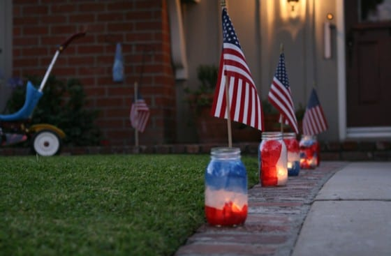 fourth of july luminaries