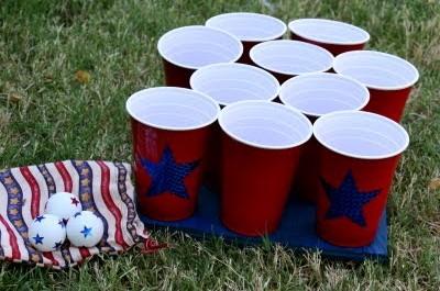 patriotic ping pong
