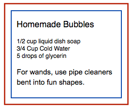 Homemade Bubble
