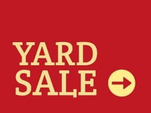Yard Sale Template 4