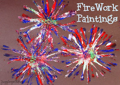 firework paintings
