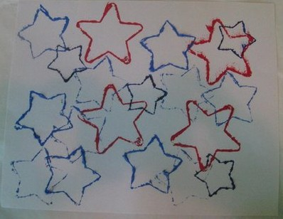 cookie cutter stars