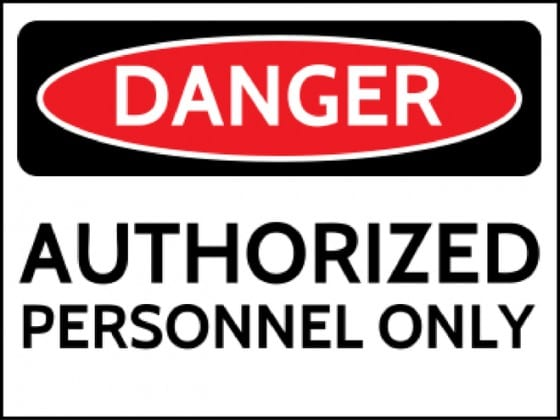authorized-personnel-only