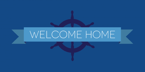 Welcome Home Navy