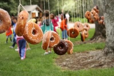 string donuts