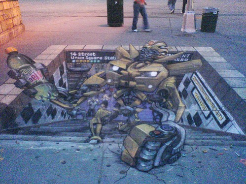 transformer out of subway