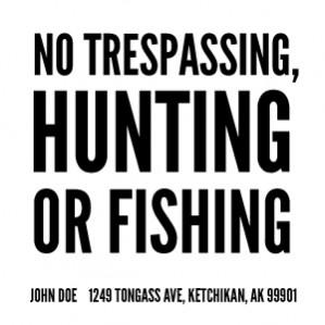 alaska trespassing specific