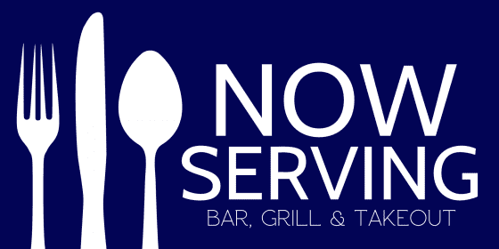 now serving sign