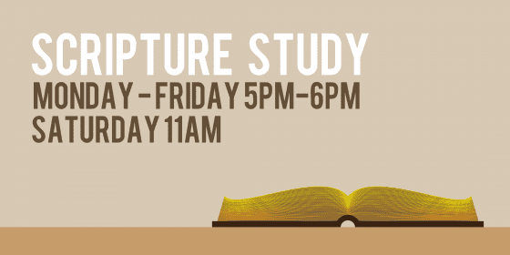 bible study sign