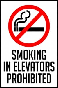 idaho smoking prohibited in elevators 4x6