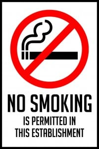 utah no smoking permitted sign 12x18