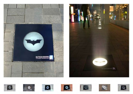 batman begins floor graphic